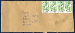 J177- Postal Used Cover. Posted From Nigeria To Nigeria. - Nigeria (1961-...)