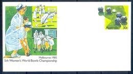 J187- Pre-Stamped Envelop Of Australia. - Australia