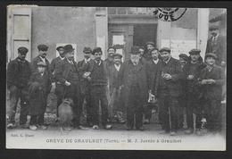 Grève De GRAULHET - M. J. Jaurès à Graulhet - Graulhet