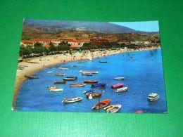 Cartolina Isola D'Elba - Marina Di Campo - La Spiaggia 1965 Ca - Livorno