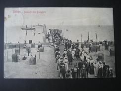 AK Deutschland- Göhren 1907, Ankunft Des Dampfers Stangl & Co Dresden 36564 - Göhren