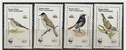 Cipro Turca/Chypre Turc/Turkish Cyprus: Uccelli Diversi, Different Birds, Différents Oiseaux, W.W.F. - W.W.F.