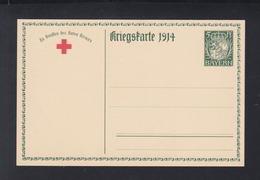 Bayern Bild-PK Kriegskarte 1914 Ungebraucht - Bayern (Baviera)
