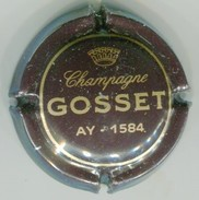 CAPSULE-CHAMPAGNE GOSSET N°21 Marron - Gosset