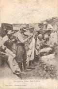 NOS POILUS EN CHASSE DANS LA MEUSE  NON ECRIS AUX POUX ? - Guerra 1914-18
