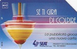 *ITALIA: SE TI GIRA DI COLPIRE* - Scheda Usata (variante 314d) - Italie