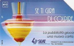 *ITALIA: SE TI GIRA DI COLPIRE* - Scheda Usata (variante 315d) - Italie