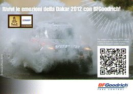 B 814 - Trasporti, Sport, Automobili, Automobilismo, Promocard, Dakar, BFGoodrich - Passenger Cars
