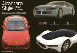 B 819 - Trasporti, Sport, Automobili, Automobilismo, Promocard, Alcantara - Passenger Cars