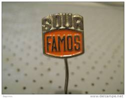 FAMOS Truck Car Pin - Badges