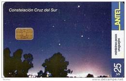 Nº 259 TARJETA DE URUGUAY DE LA CONSTELACION CRUZ DEL SUR - Uruguay