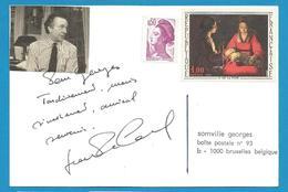 (A567a) - Signature / Dédicace / Autographe Original - Jean-Pierre Cassel - Acteur Et Danseur - Autographes