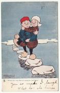 Little Hollanders By G E Shepheard, 1904 - Tuck's Oilette Postcard - Humour
