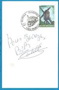 (A569) - Signature / Dédicace / Autographe Original - Bob Castella - Compositeur - Olympia 17/1/87 - Autographes