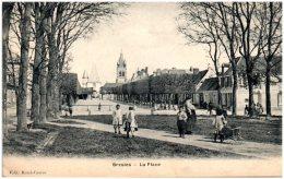 60 BRESLES - La Place   (Recto/Verso) - France