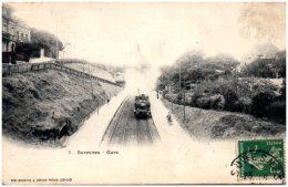 92 SURESNES - Gare   (Recto/Verso) - Autres Communes