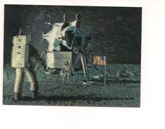 M4404 Luna PK 138 Lunar Landing Tridimensioanle 3D Ed TOPPAN Non Viaggiata - Astronomia