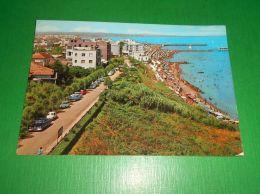 Cartolina Gabicce - Lungomare E Spiaggia 1966 - Rimini
