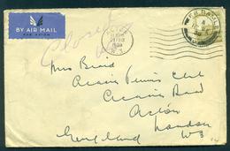 Palestina. Letter To Denmark 1948. - Palestine