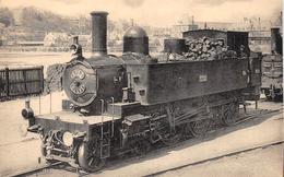 ¤¤  -  DIEPPE   -  Locomotive De L'Ouest  -  Machine  N° 3722  -  Train , Chemin De Fer   - ¤¤ - Dieppe