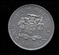 "Giamaica 5 Shillings 1966 ""VIII Commonwealth Games"" - Giamaica"