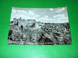 Cartolina Gravina Di Puglia - Panorama Dal Torrente La Gravina 1956 - Bari