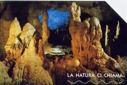 *ITALIA: LA NATURA CI CHIAMA - GROTTE DI FRASASSI* - Scheda Usata (manca OCR) - Italie