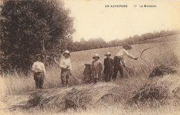 En Auvergne - La Moisson - Edition B. Laborie - Carte N° 17 Non Circulée - Cultures