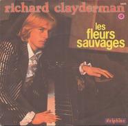 45 TOURS RICHARD CLAYDERMAN LES FLEURS SAUVAGES DELPHINE SG 64039 - Instrumental