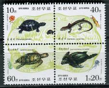 Korea 1998 Corea / Reptiles Turtles MNH Reptilien Tortugas / Cu3713  22 - Tortugas