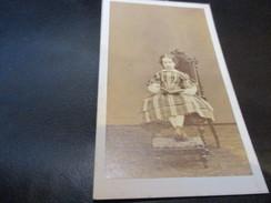 CDV - CARTE DE VISITE, 6 Cm X 10.50 Cm, Geruzet Freres, Bruxelles - Oud (voor 1900)