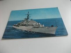 NAVE SHIP FREGATA PORTAELICCOTERO ALPINO - Guerra