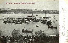 MALTA. SUMMER FESTIVAL ON THE SEA - Malta