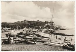 Beach And Castle, Dover, Kent, C.1950s - Valentine's RP Postcard - Dover