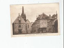 JOUY EN JOSAS (S ET O)  PLACE DE L'EGLISE ET MONUMENT 1937 - Jouy En Josas