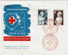 CTN49/4 - CROIX ROUGE 1951 FDC PARIS 15/12/1951 - FDC