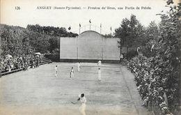 Anglet - Fronton Du Brun, Une Partie De Pelote Basque - Carte N° 126 Non Circulée - Postcards