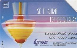 *ITALIA: SE TI GIRA DI COLPIRE* - Scheda Usata (variante 312b) - Italie