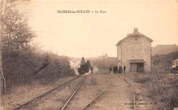 91 - ESSONNE / Brières Les Scellés - La Gare - Train - Beau Cliché - Frankreich