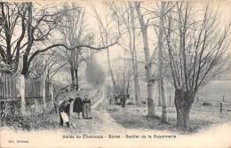 91 - ESSONNE / Bures - Sentier De La Guyonnerie - Beau Cliché Animé - Bures Sur Yvette