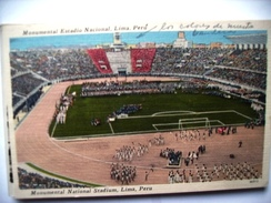 Peru Lima Stadion Stadium Monumental Estadio Nacional - Singapore