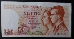 Billet Cinquante Francs Belgique Vijftig Frank Belgie 50 - 50 Francs