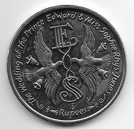 *seychelles 5 Rupees 1999  Km 109  Unc - Seychelles