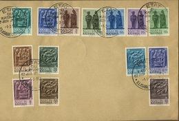 FDC 1-3-1961   Des 14 Valeurs Art Et Cuivre  KATANGA - Katanga