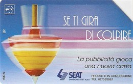 *ITALIA: SE TI GIRA DI COLPIRE* - Scheda Usata (variante NON CATALOGATA) - Italie