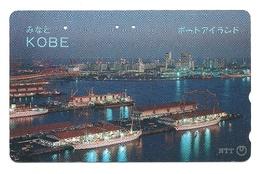 Giappone - Tessera Telefonica Da 50 Units T292 - NTT - Barche