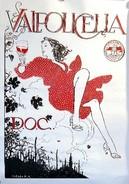 MANIFESTO PUBBLICITARIO VALPOLICELLA DOC Illustratore MILO MANARA - Manifesti