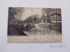 Düsseldorf. - Tritonengruppe. Königs Alle. (29 - 10 - 1906) - Duesseldorf