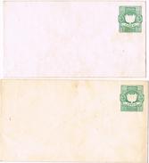 24545. Dos Entero Postal Diferentes 5 Ctvos BOLIVIA * - Bolivia