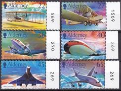 Alderney 2003, 206/11, 100 Jahre Motorflug, 100 Years Of Flying.  MNH ** - Alderney